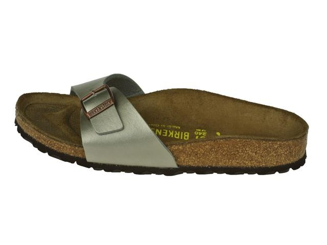 birkenstock madrid slipper gold champagne slippers. Black Bedroom Furniture Sets. Home Design Ideas
