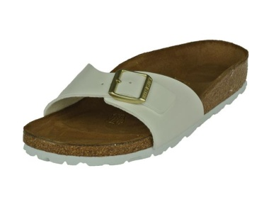 birkenstock madrid slipper white patent gold slippers. Black Bedroom Furniture Sets. Home Design Ideas