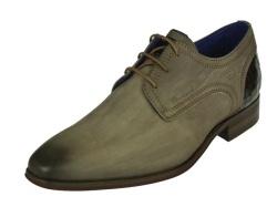 Braend-geklede schoenen-Taupe veterschoen1
