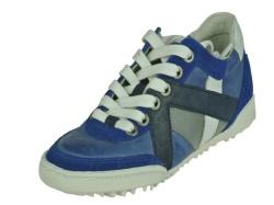 Track style-jongensschoenen-Blauw lage veterschoen1
