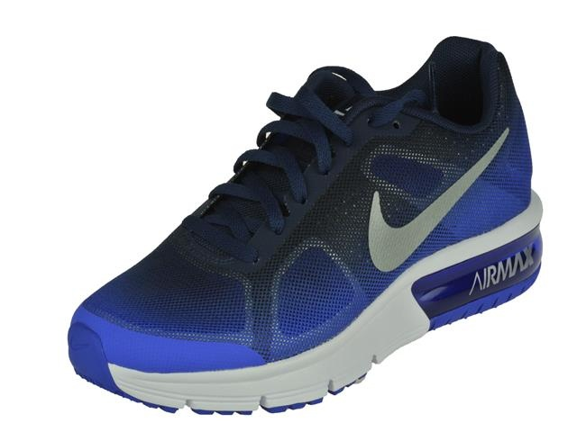 air max sequent blauw