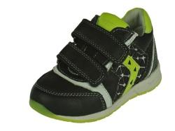 Track style-jongensschoenen-Zwart klitterbandschoen1