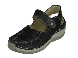 Wolky-sandalen-Venture Zwart1