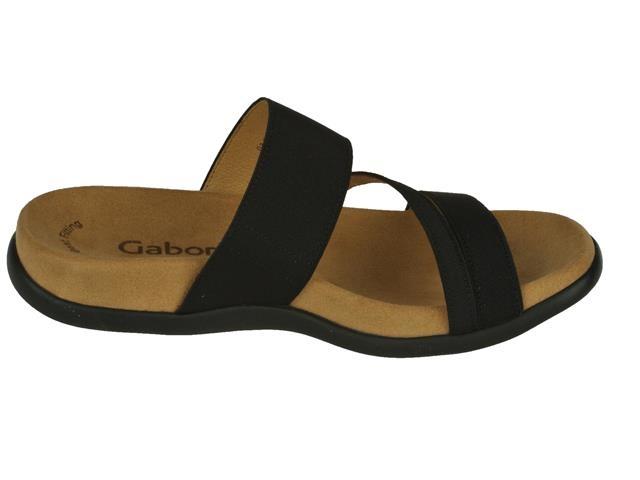 Gabor Femmes Tongs - Noir 0W1oey