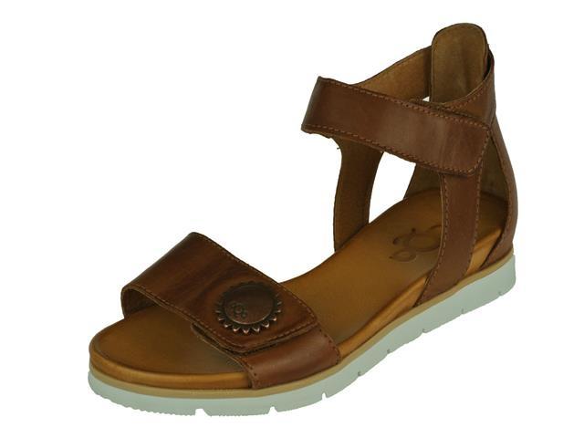 aqa dames sandaal sevilha brandy cognac sandalen. Black Bedroom Furniture Sets. Home Design Ideas