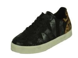 D.A.T.E.-sportieve schoenen-Court Pop Stripe1