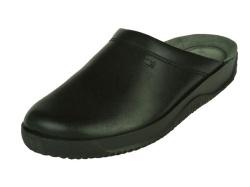 Rohde-Pantoffel/Huisschoen-zwart slipper1