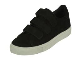 1842-sportieve schoenen-zwart klittenband1