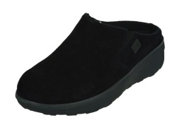 FitFlop-slippers-Loaff Suede Clogs1