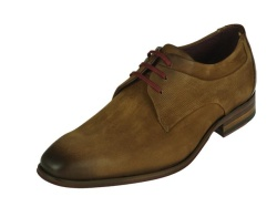 Braend-geklede schoenen-Cognac gekleed1