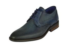 Braend-geklede schoenen-Blauw gekleed1