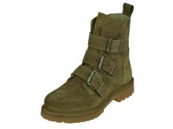 Shoe Colate-halfhoge schoen-Dames laars met Gesp1