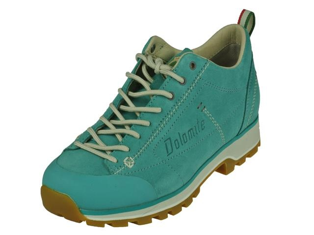 De damesschoen dolomite cinquantaquatto lage wandelschoenen in de kleur aquamarine dolomite lage wandelschoen....