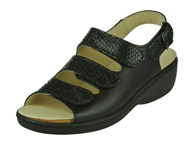 Longo Sandaal zwart