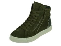 aQa-halfhoge schoen-Veterboot groen1