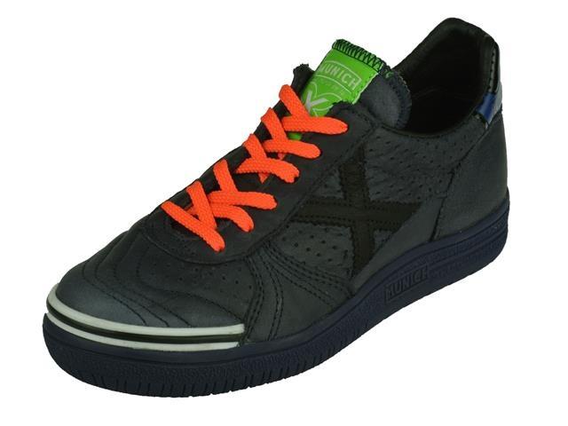 Kinderschoenen Maat 37.Munich Navy Leather Sneakers Jongensschoenen Online Schoenen