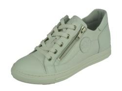 aQa-sportieve schoenen-Sneaker wit1