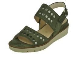 Gabor-sandalet-groen sandaal1