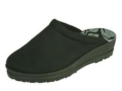 Rohde-Pantoffel/Huisschoen-Pantofeel slipper zwart1