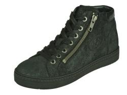 aQa-halfhoge schoen-Veterboot zwart1