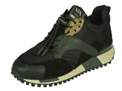 Via-Vai-sportieve schoenen-Sneaker zwart1