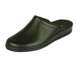Rohde-Pantoffel/Huisschoen-Slipper bruin1