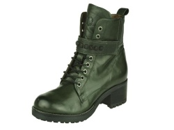 Piedi Nudi-halfhoge schoen-Veterboot groen1