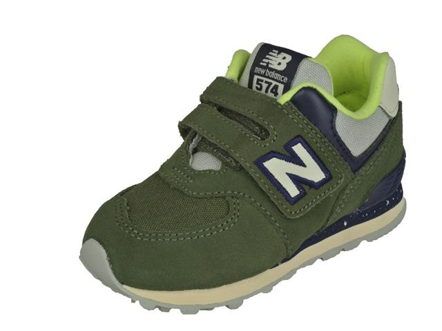 New Balance New balancve Sportachtige Lage Jongens Klittenbandschoen