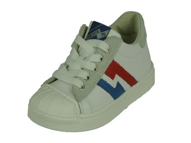 EB Shoes EB_shoes lage jongens veterschoen