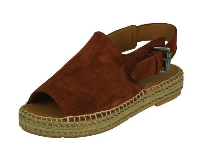 Via-Vai Via-Vai Trendy sandaal op lage Touwzool