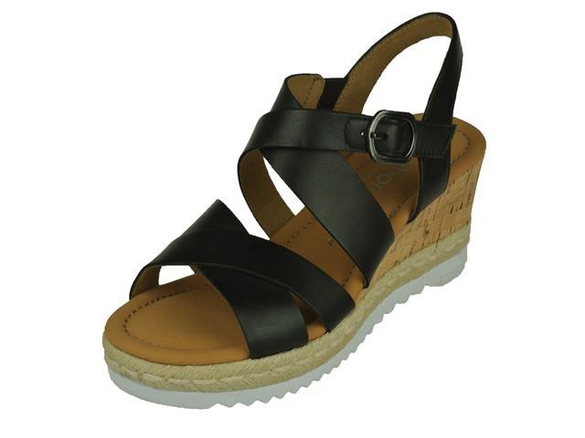 Gabor Gabor comfort open Sandalet Op kurk Sleehak