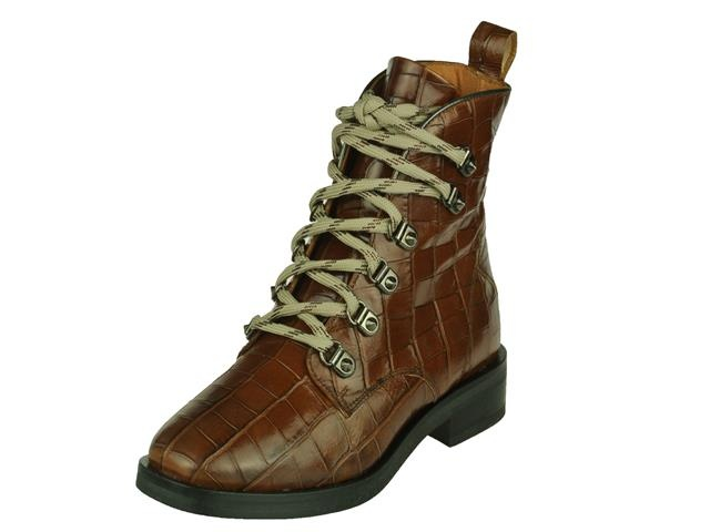 Via-Vai Via Vai trendy Halfhoge dames veterboot