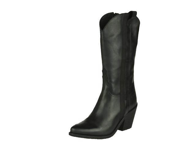 Red Rag High Boot Western