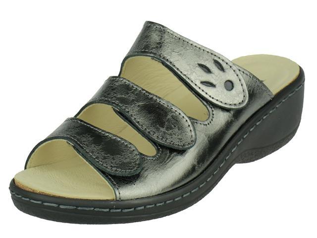 Longo Longo comfort drie-band slipper