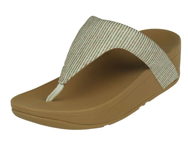 FitFlop Lottie Glitter Stripe Toe