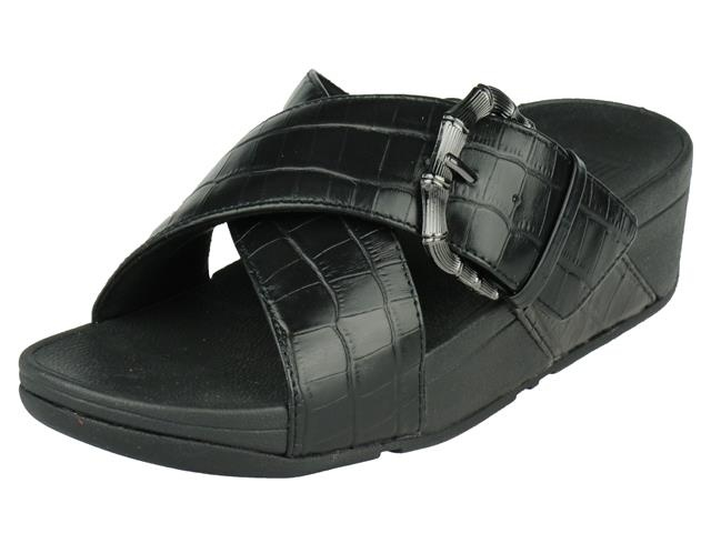 FitFlop Lulu Croco Slides
