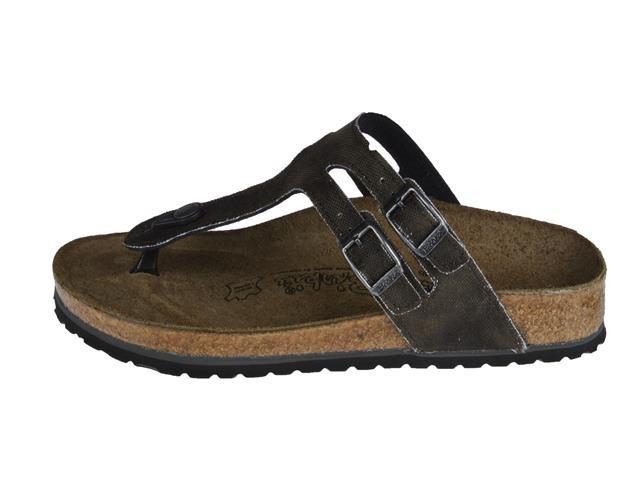 excellent quality official site 100% top quality Birkenstock Milos (Dark Brown) - Slippers - Kinderschoenen ...