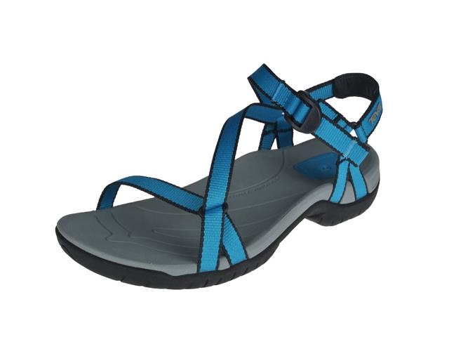 teva zirra algiers blue sandalen damesschoenen. Black Bedroom Furniture Sets. Home Design Ideas